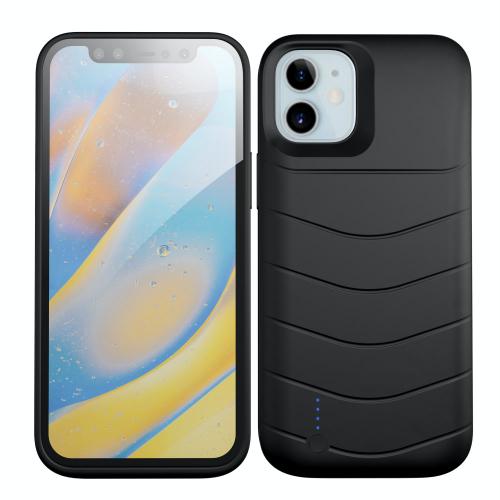 Чехол батарея для iPhone 12 Mini 4000 mAh black iBattery