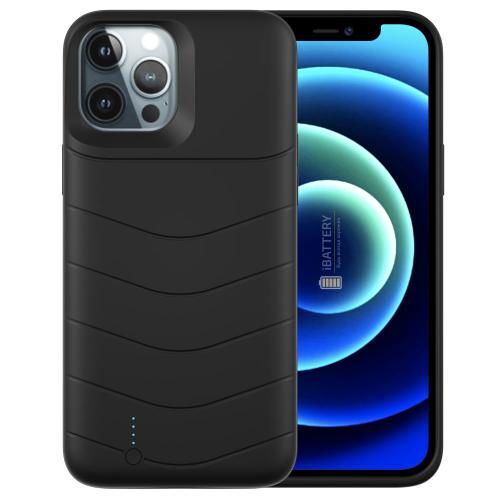 Чехол батарея для iPhone 12 Pro 5000 mAh black iBattery