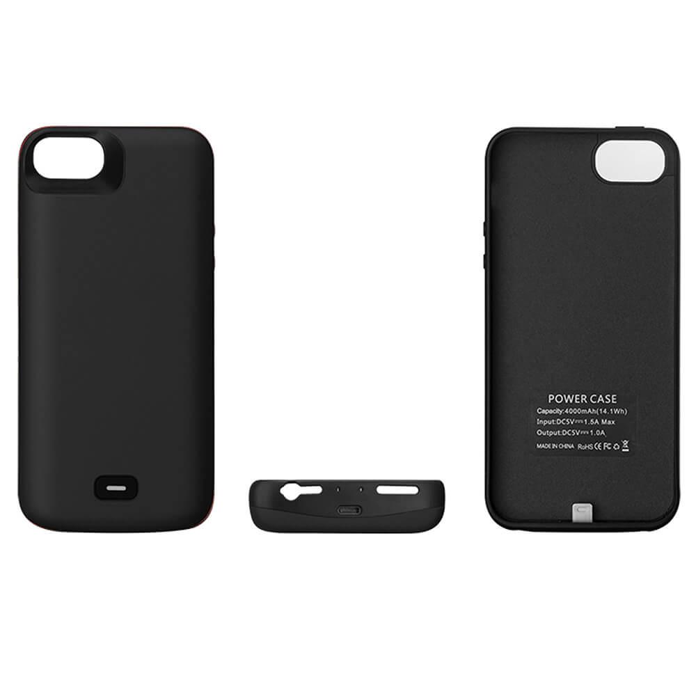 Чехол зарядка для iPhone 5/5s/SE 4000 mAh black iBattery