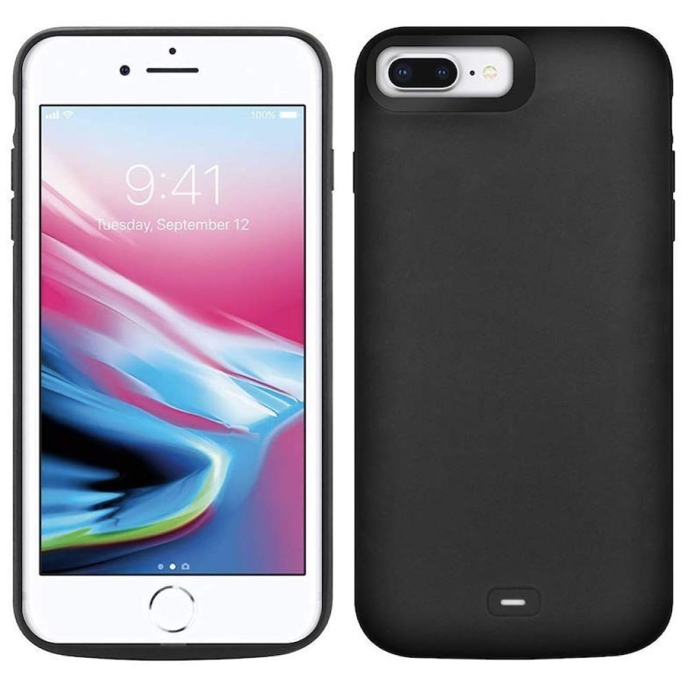 Чехол  powerbank для iPhone 6+/6s+/7+/8 Plus 8000 mAh black