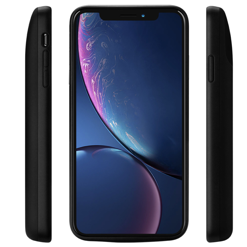 Чехол аккумулятор для iPhone XR 6000 mAh black iBattery