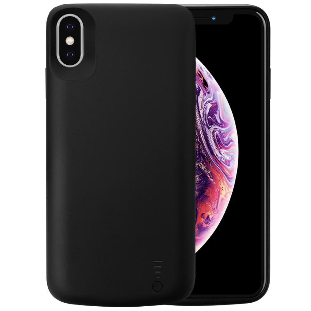 Чехол зарядка для iPhone Xs Max 6000 mAh black iBattery
