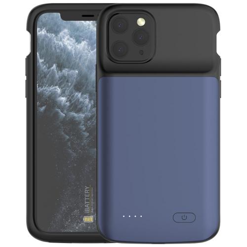 Чехол аккумулятор для iPhone 11 Pro Max 5000 mAh blue