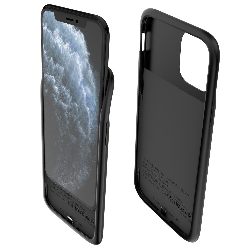 Чехол аккумулятор для iPhone 11 Pro 5000 mAh red