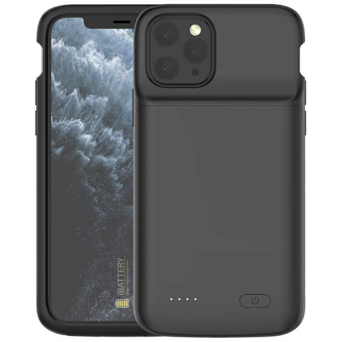 Чехол аккумулятор для iPhone 11 Pro 4800 mAh black