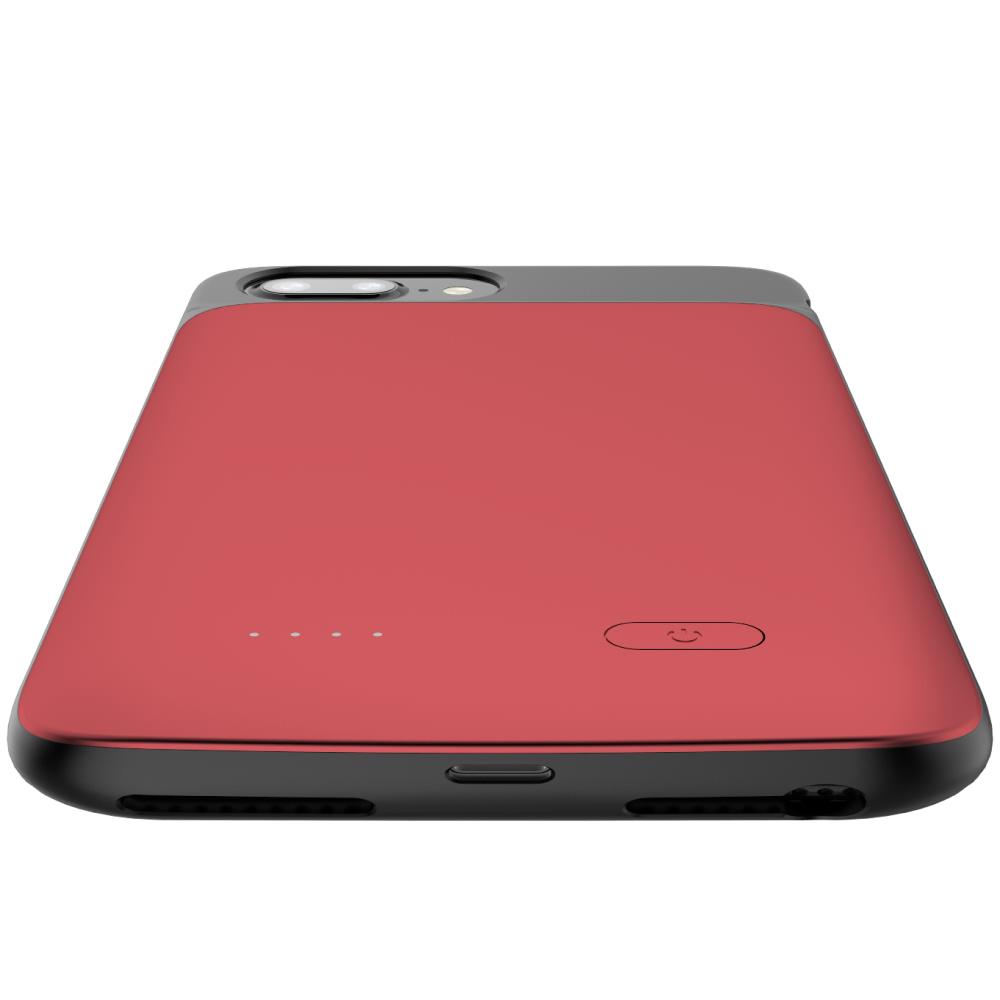 Чехол аккумулятор для iPhone 6+/6s+/7+/8+ Plus 5000 mAh red