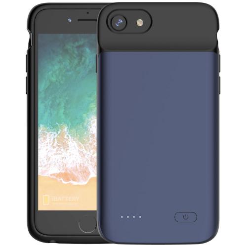 Чехол аккумулятор для iPhone 6/6s/7/8 3200 mAh blue