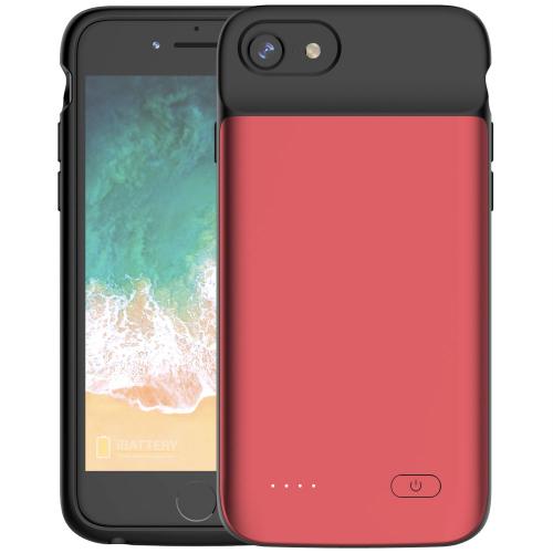Чехол аккумулятор для iPhone 6/6s/7/8 3200 mAh red