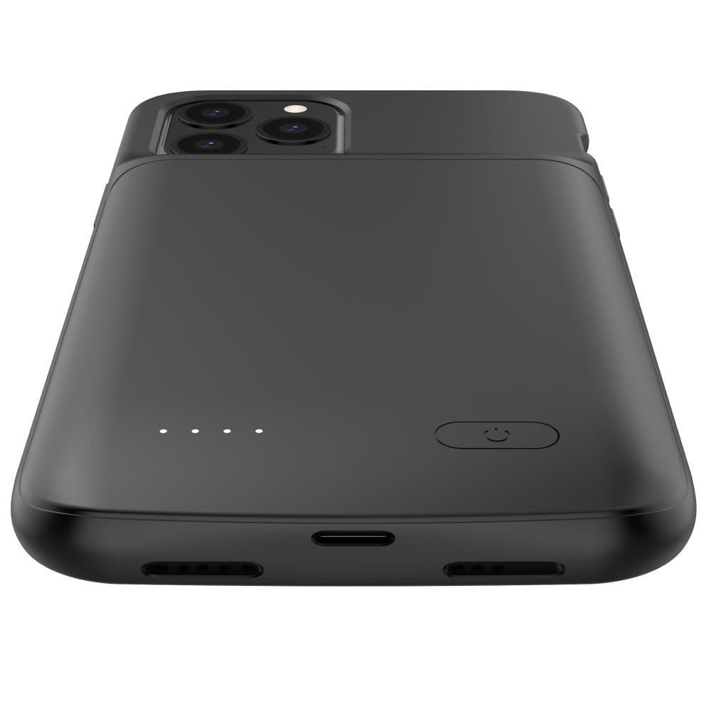 Чехол аккумулятор для iPhone 12 Pro 4800 mAh black