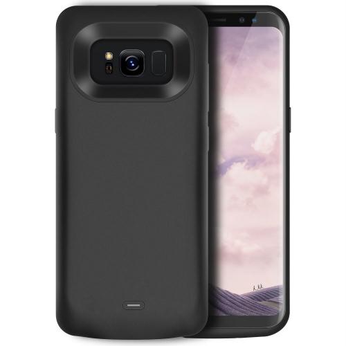 Чехол батарея для Samsung S8 Plus 5500 mAh black iBattery