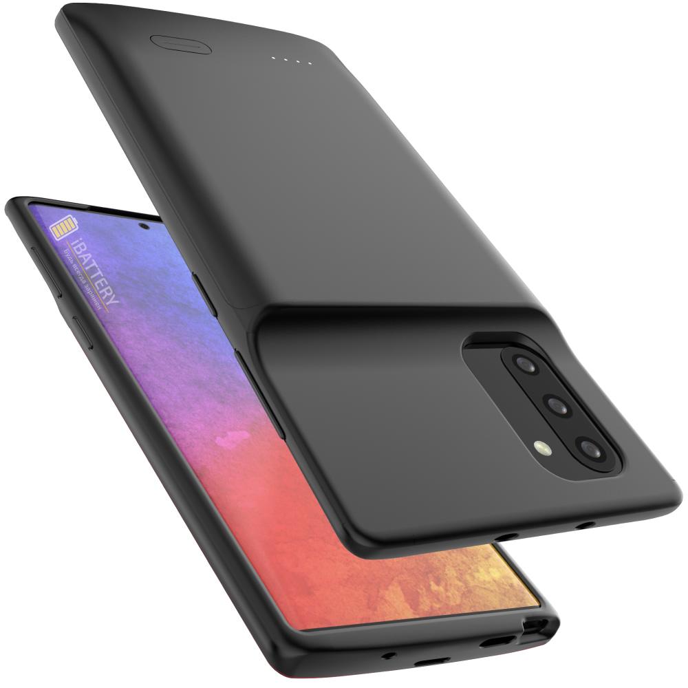 Чехол зарядка для Samsung Note 10 black 5200 mAh iBattery