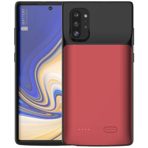 Чехол аккумулятор для Samsung Note 10 Plus 6000 mAh red iBattery