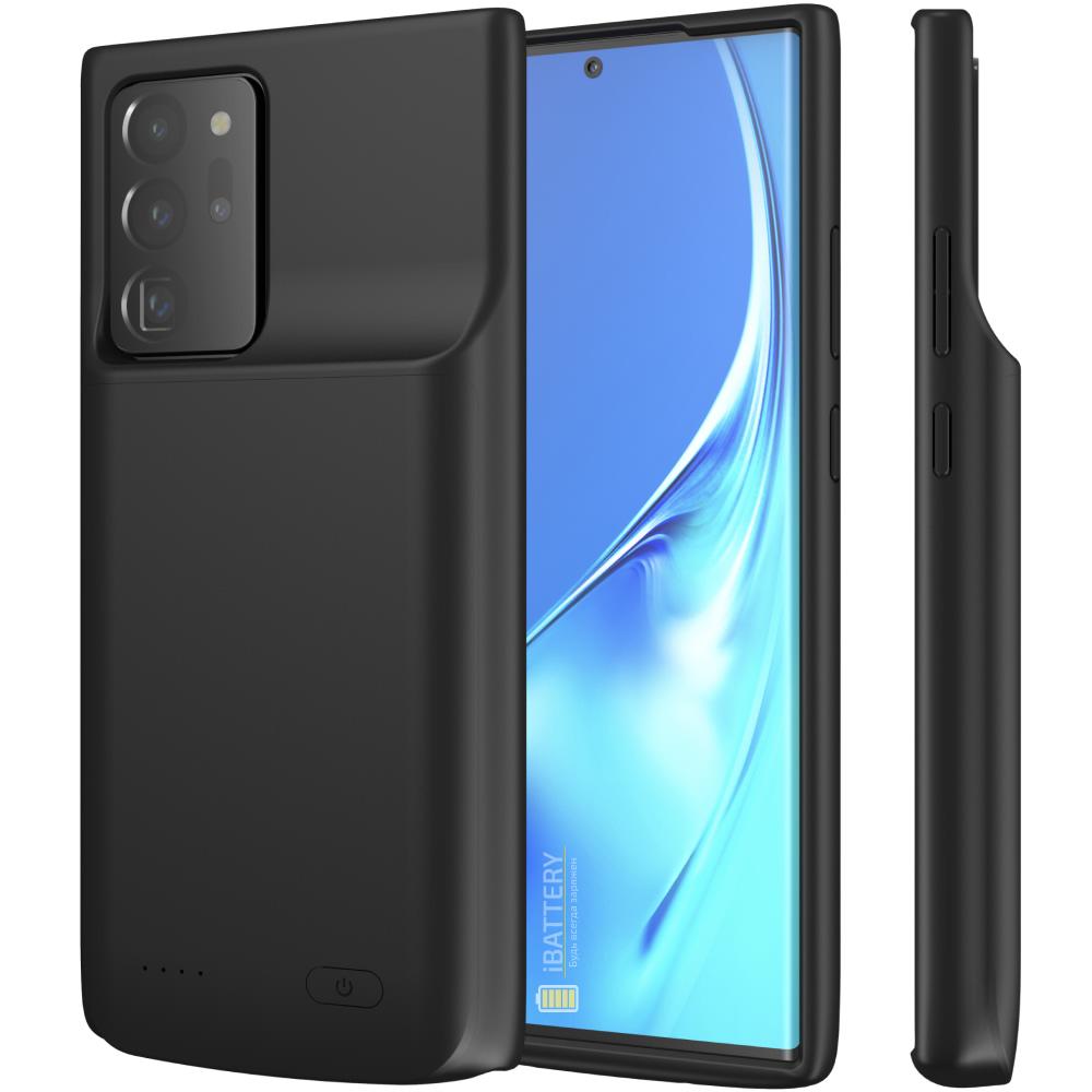 Чехол батарея для Samsung Note 20 Ultra black 6000 mAh iBattery