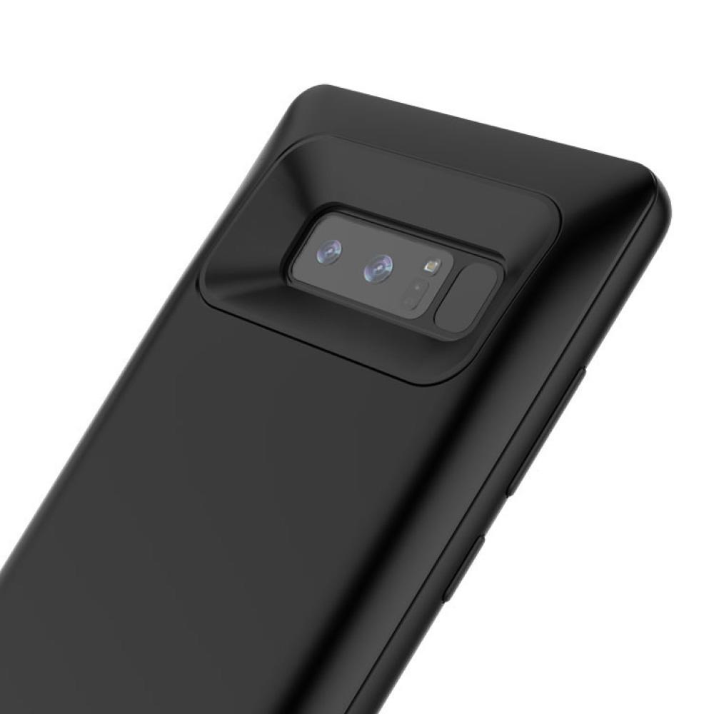 Чехол зарядка для Samsung Note 8 black 5500 mAh iBattery
