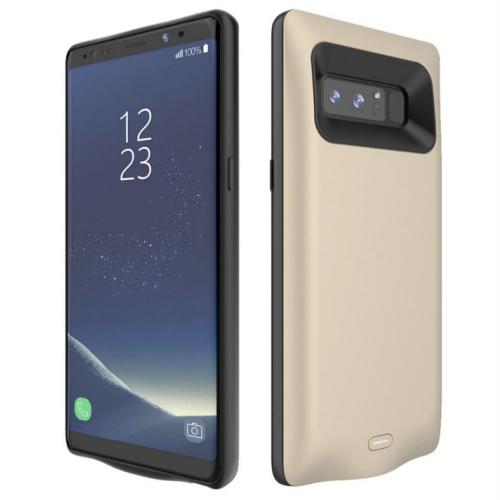 Чехол зарядка для Samsung Note 8 gold 5500 mAh iBattery
