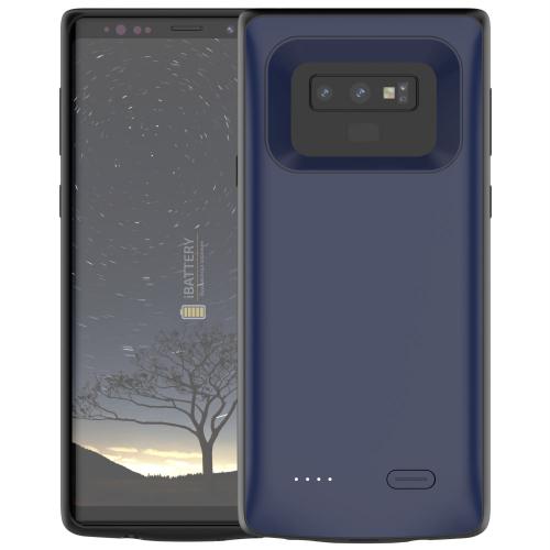 Чехол аккумулятор для Samsung Note 9 5000 mAh blue