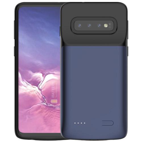 Чехол зарядка для Samsung S10 blue 4700 mAh iBattery