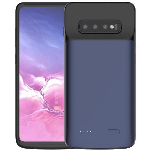 Чехол зарядка для Samsung S10 Plus 5000 mAh blue iBattery