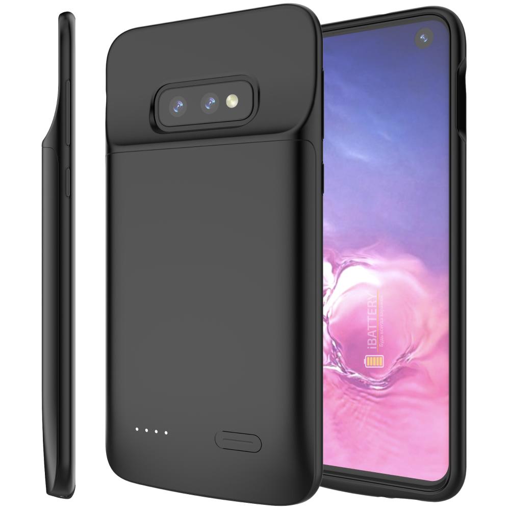 Чехол зарядка для Samsung S10e black 4700 mAh iBattery
