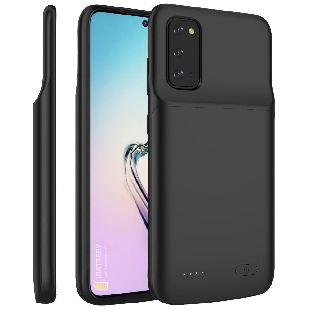 Чехол батарея для Samsung S20 black 4800 mAh iBattery