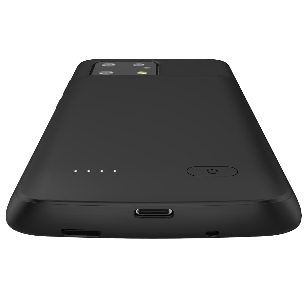 Чехол зарядка для Samsung S20 Ultra black 6000 mAh iBattery