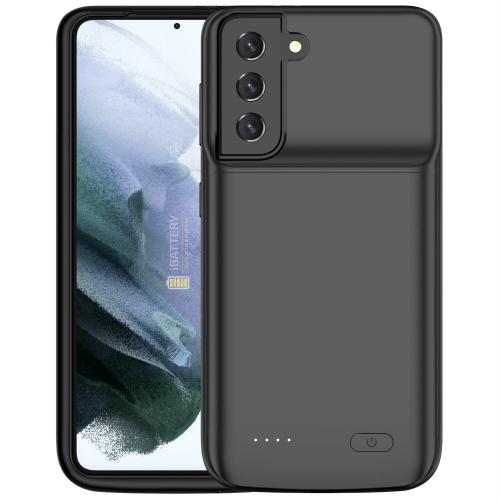 Чехол зарядка для Samsung S21 black 4800 mAh iBattery