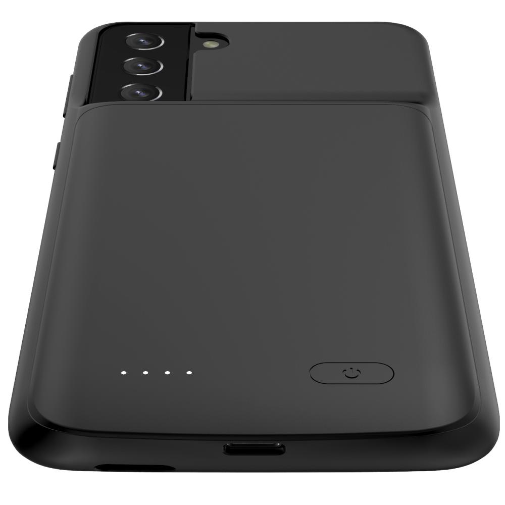 Чехол зарядка для Samsung S21 Plus black 6000 mAh iBattery