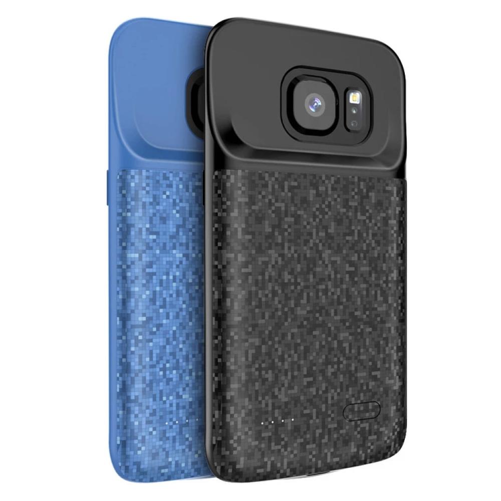 Чехол зарядка для Samsung S7 black 4700 mAh iBattery