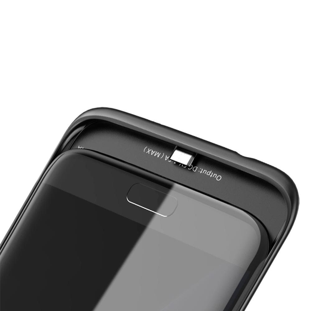 Чехол зарядка для Samsung S7 Edge black 5000 mAh iBattery