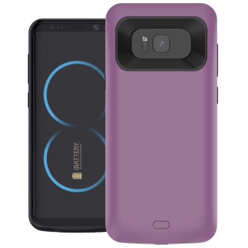 Чехол батарея для Samsung S8 5000 mAh purple iBattery