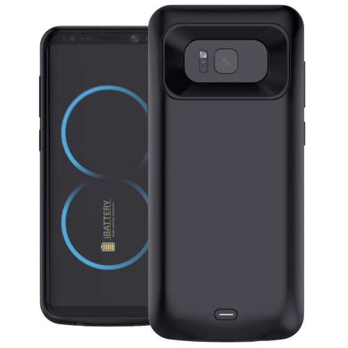 Чехол батарея для Samsung S8 5000 mAh black iBattery