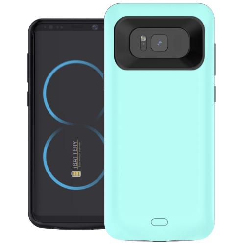 Чехол батарея для Samsung S8 5000 mAh menthol iBattery