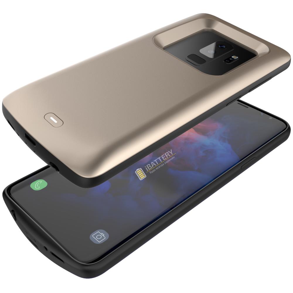 Чехол аккумулятор для Samsung S9 Plus 5200 mAh mAh iBattery