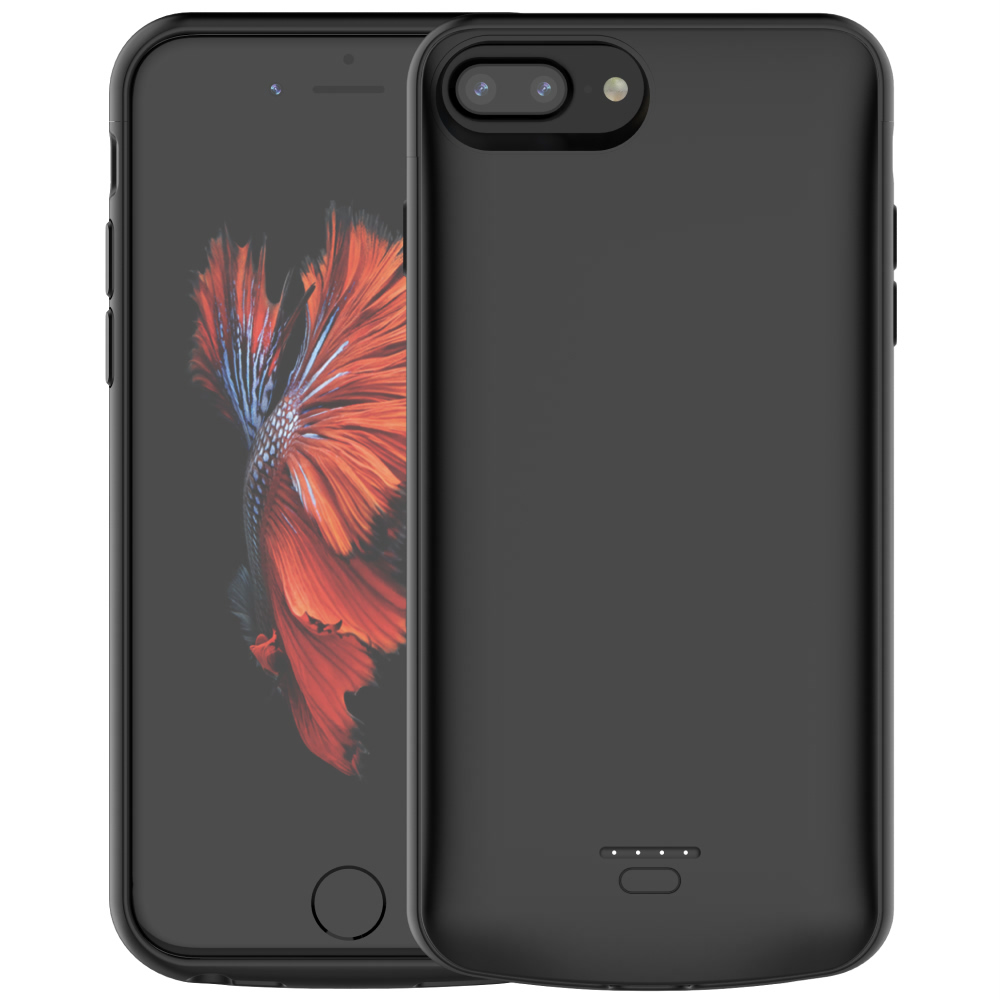 Чехол батарея для iPhone 6+/6s+/7+/8+ Plus 5500 mAh black