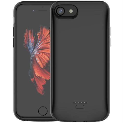 Чехол батарея для iPhone 6/6s/7/8 4000 mAh black