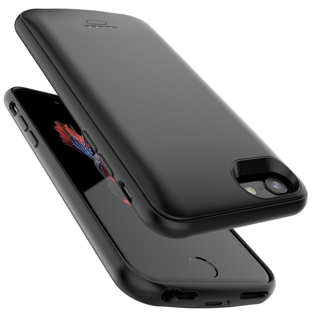 Чехол аккумулятор для iPhone 6/6s/7/8 4000 mAh black