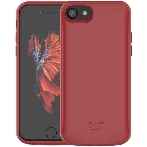 Чехол батарея для iPhone 6/6s/7/8 4000 mAh red
