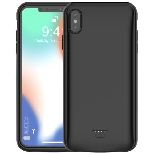 Чехол батарея для iPhone XS Max 5000 mAh black