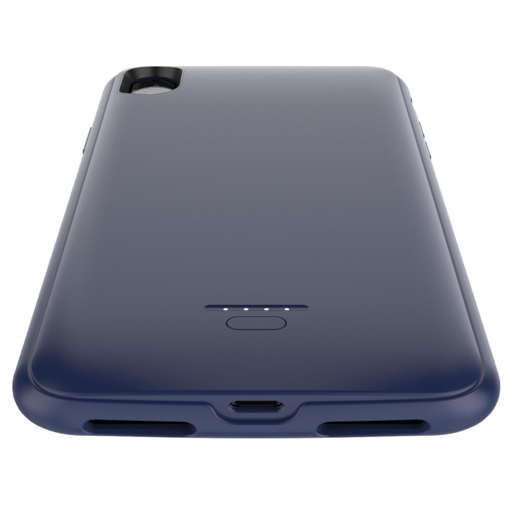 Чехол батарея для iPhone X/XS 4000 mAh blue iBattery