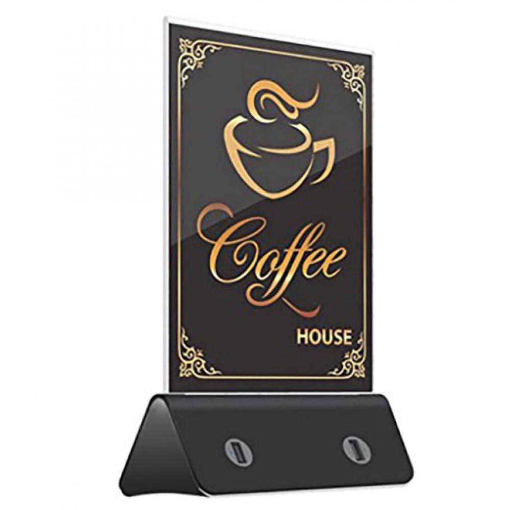 PowerBank меню для кафе и ресторанов 13000 mAh black