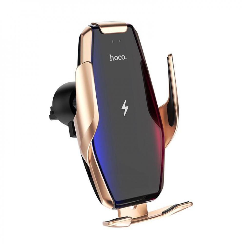 Холдер Hoco S14 Gold (Wireless Charger)