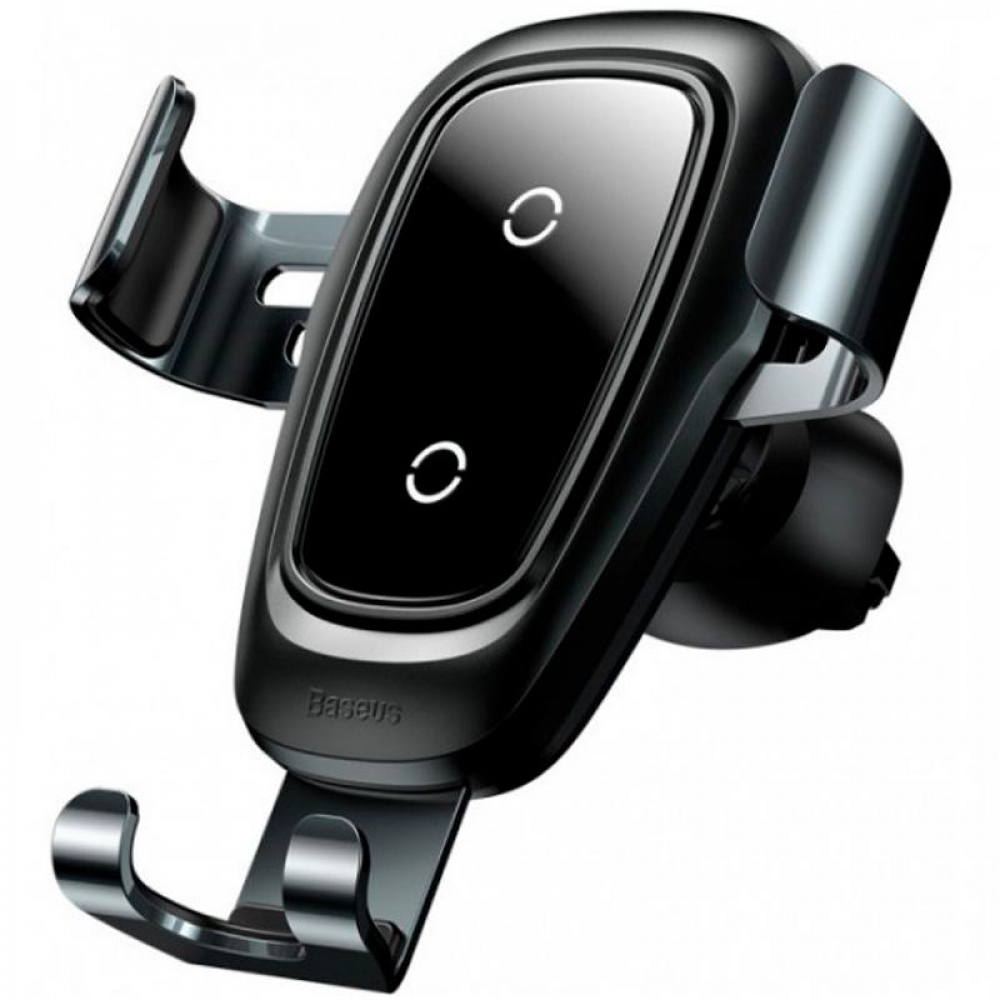 Холдер Baseus Metal Wireless Fast Charger Gravity Car Mount (Air Outlet Type) (WXYL-B0A) Tarnish