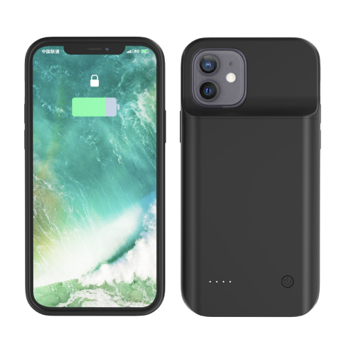 Чехол зарядка для iPhone 12 Mini 6800 mAh black iBattery