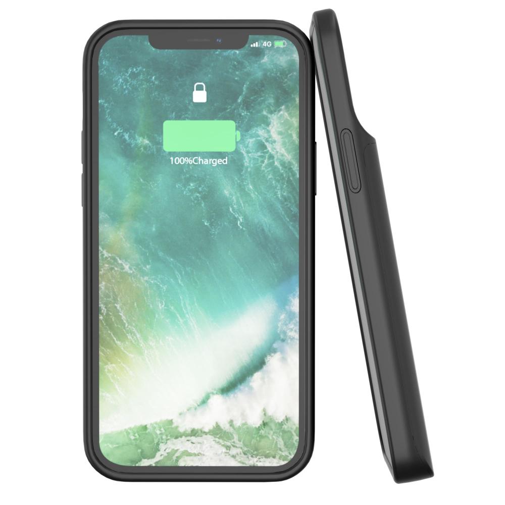 Чехол зарядка для iPhone 12 Pro Max 6800 mAh black iBattery