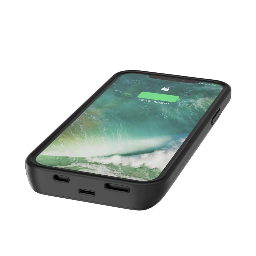 Чехол зарядка для iPhone 11 6800 mAh black iBattery