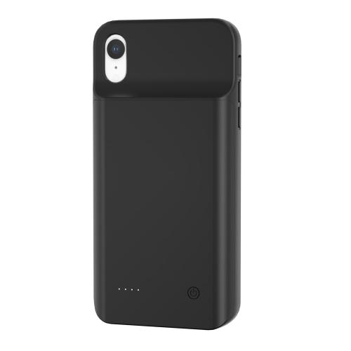 Чехол зарядка для iPhone Xr 6800 mAh black iBattery