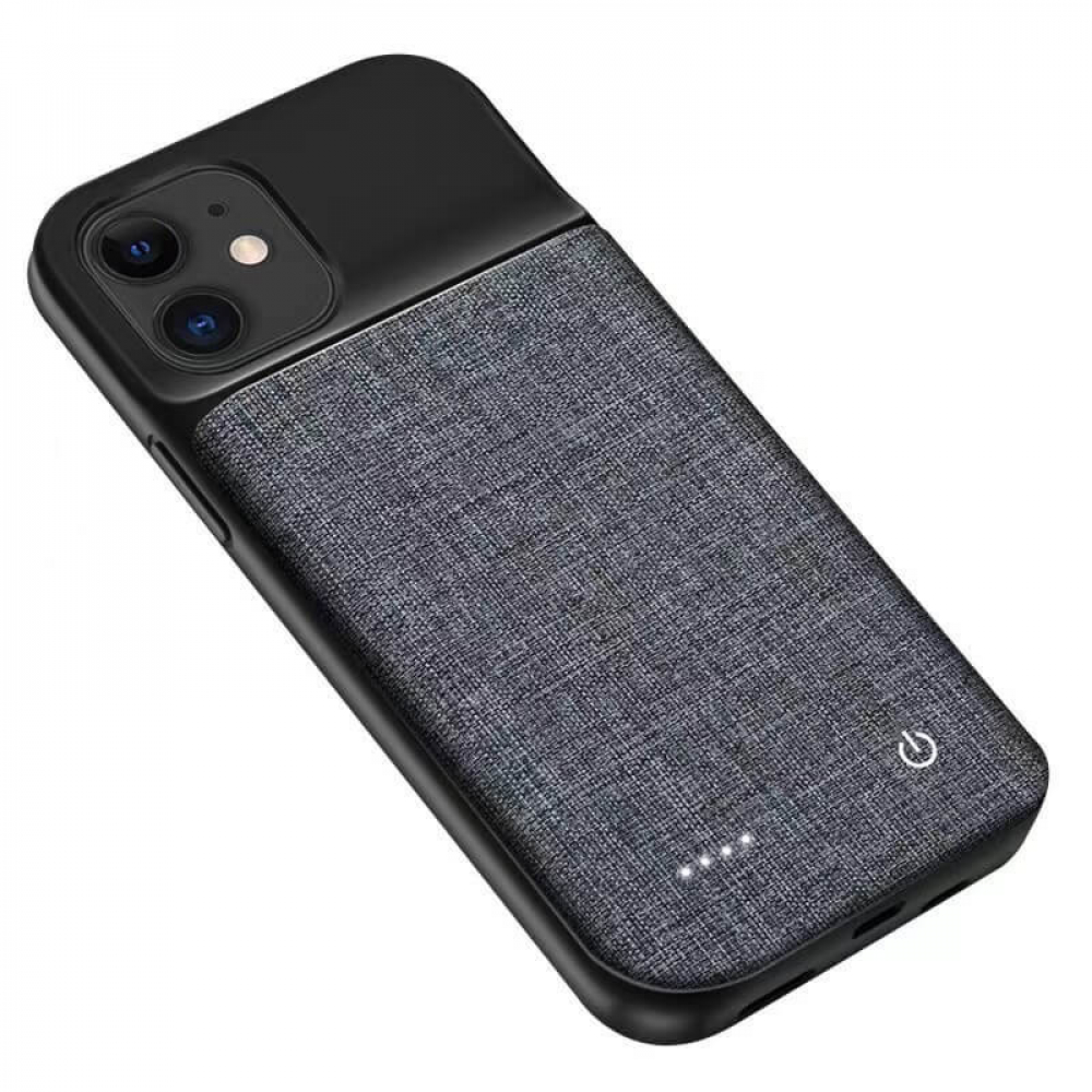 Чехол зарядка для iPhone 12 Mini 6800 mAh Oxford Design