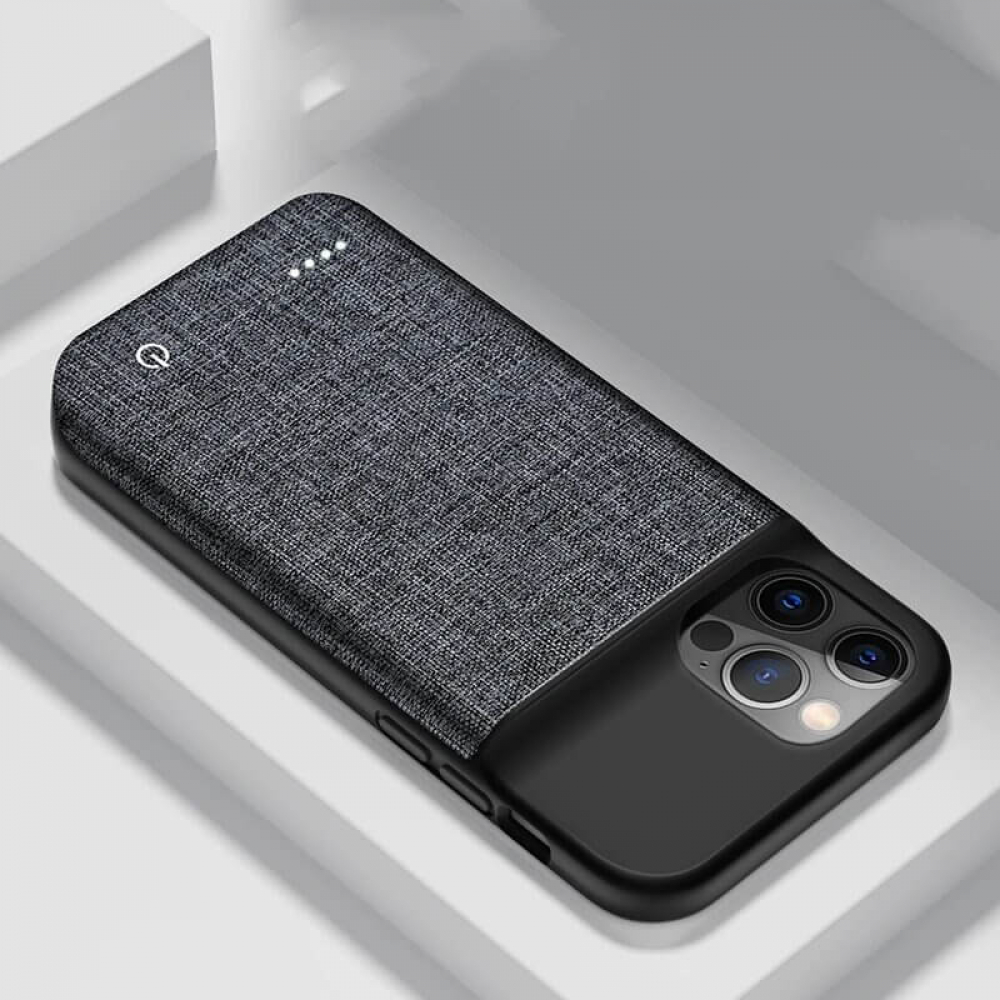 Чехол зарядка для iPhone 11 Pro Max 6800 mAh Oxford Design
