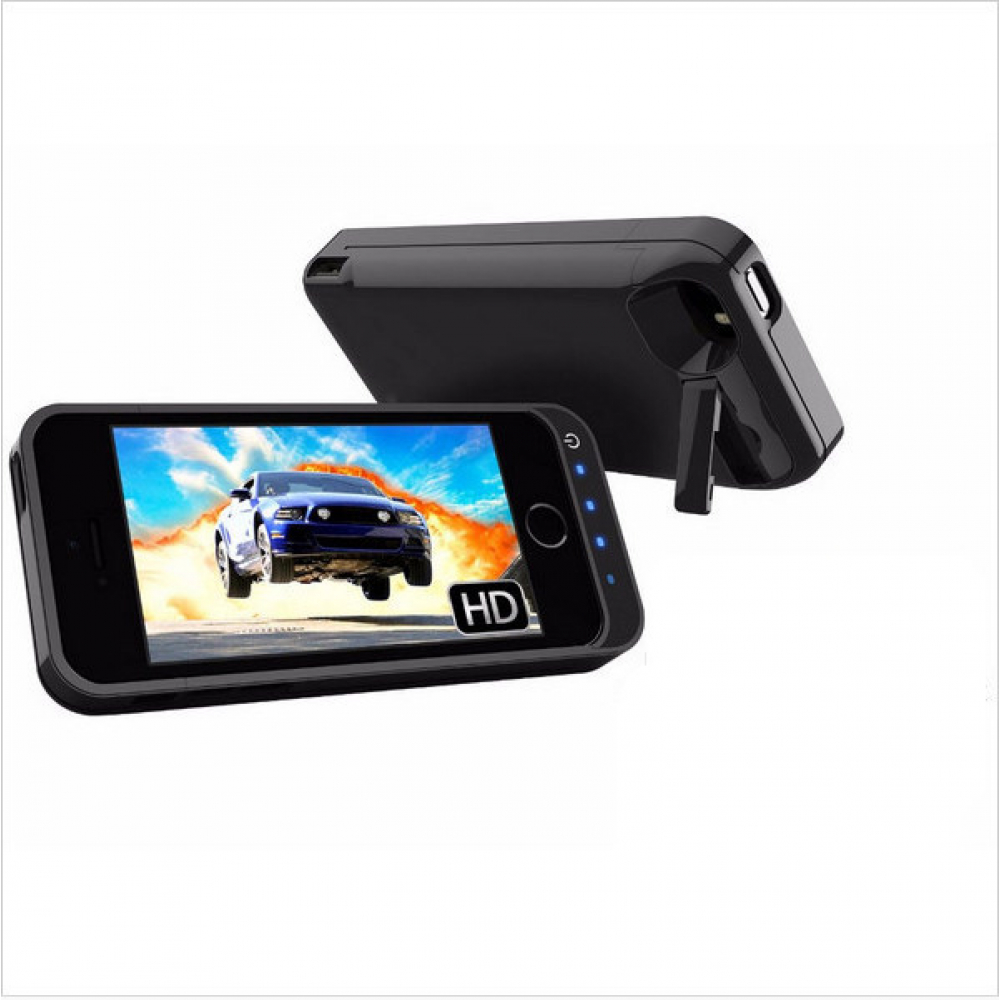 Чехол аккумулятор для iPhone 5/5C/5s/SE 4200 mAh black iBattery
