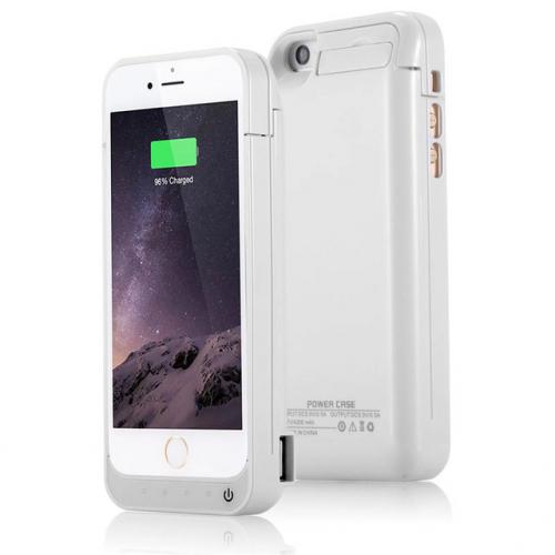 Чехол аккумулятор для iPhone 5/5C/5s/SE 4200 mAh white iBattery